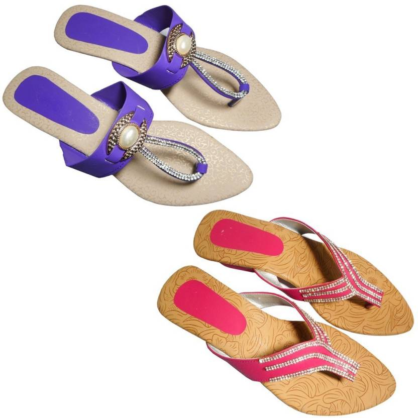 cd400a1c0 Jaipuri Shop Women Multi Sandals - Buy Jaipuri Shop Women Multi Sandals  Online at Best Price - Shop Online for Footwears in India