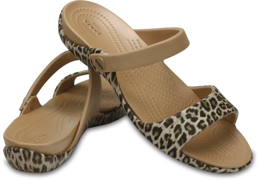 07a8b785981 Crocs Women Brown Sports Sandals - Buy 204463-95K Color Crocs Women Brown  Sports Sandals Online at Best Price - Shop Online for Footwears in India ...
