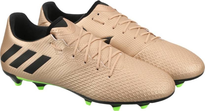 ADIDAS MESSI 16.3 FG Football Shoes For Men - Buy COPPMT CBLACK ... ac006457f