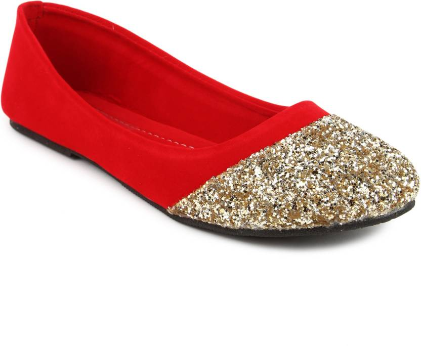 19b3f6a0ec CUTE FEET Cute Feet Red Velvet With Sparkle Belly Bellies For Women