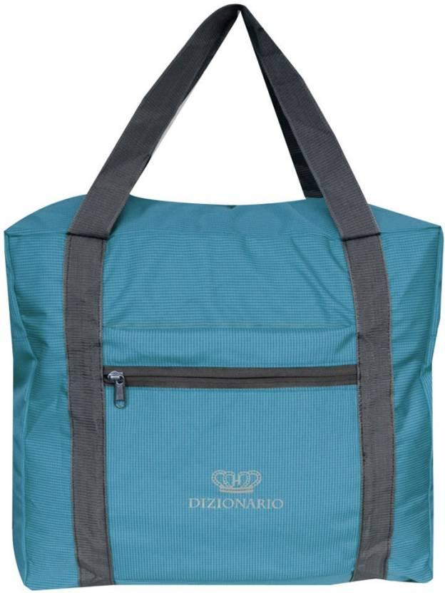 4015e51920338 Dizionario Folding Flight Cabin Size Compliant Expandable Small Travel Bag  Small Travel Bag - Medium (Blue)