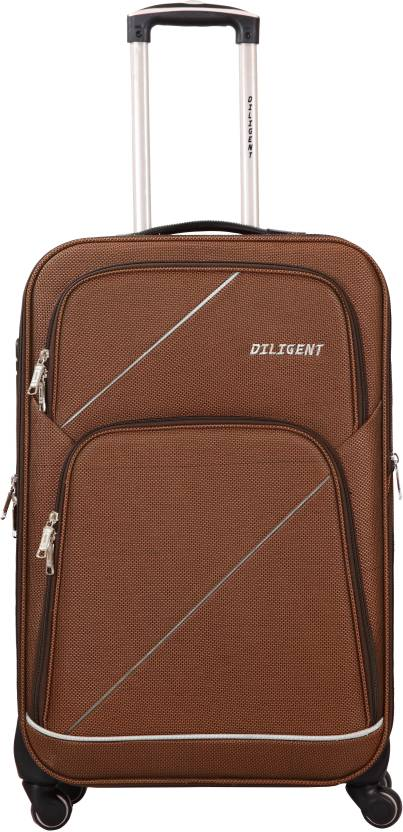 d2175103d62 Diligent Excursion Smart Travel Case 20 Expandable Cabin Luggage - 20 inch  (Gold)