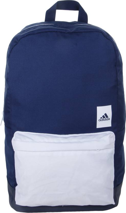 ADIDAS A.CLASSIC M BLO 17 L Backpack Blue - Price in India ... 997a3d2ef09f3