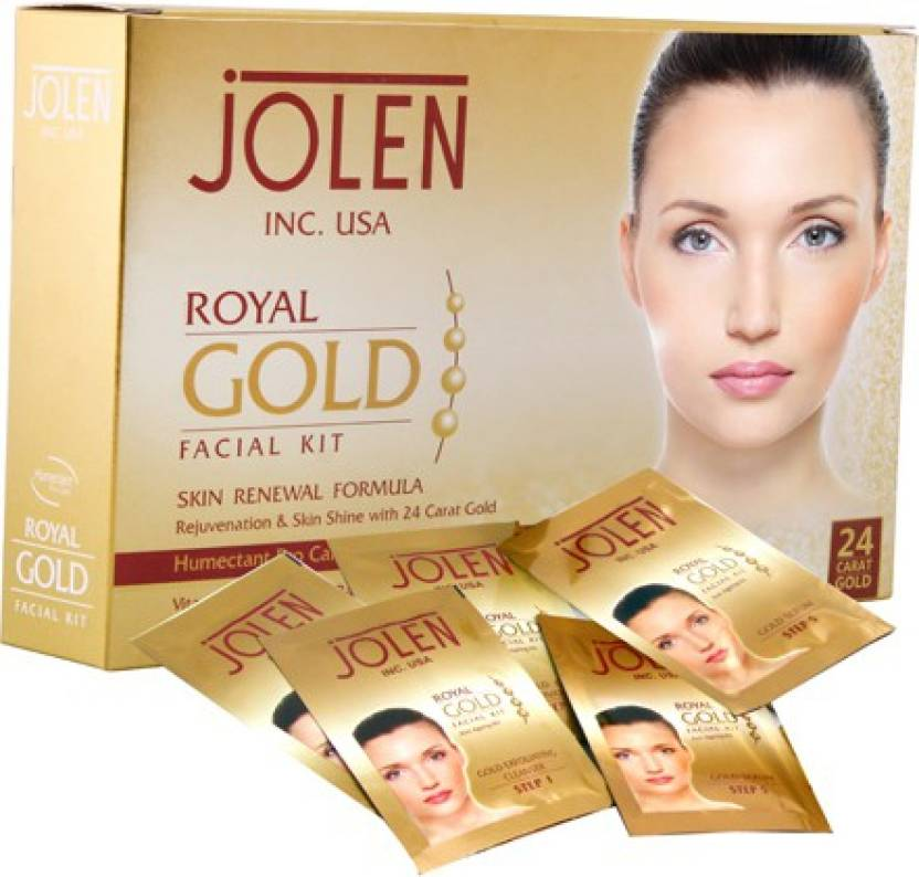 Jolen Jolen Royal Gold Facial Kit 50g 10 G Price In India Buy