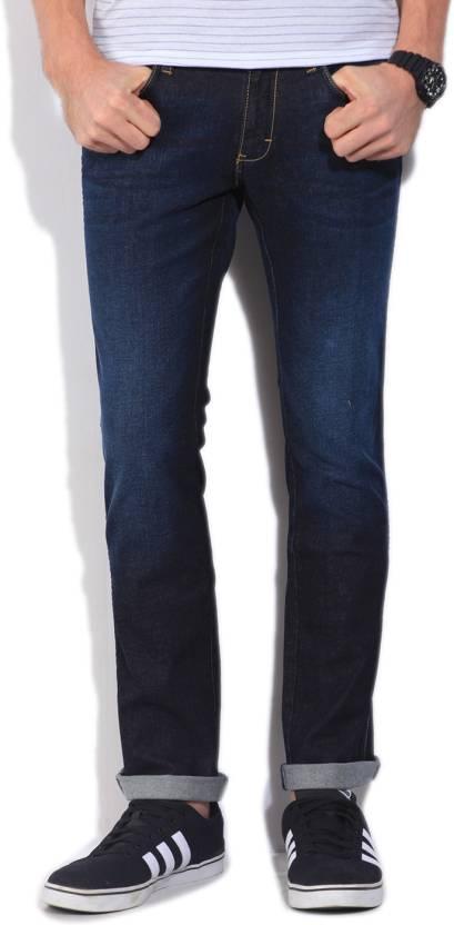 58aeafab Wrangler Kevin Slim Men's Blue Jeans - Buy JSW-DARKSTONE Wrangler Kevin Slim  Men's Blue Jeans Online at Best Prices in India   Flipkart.com
