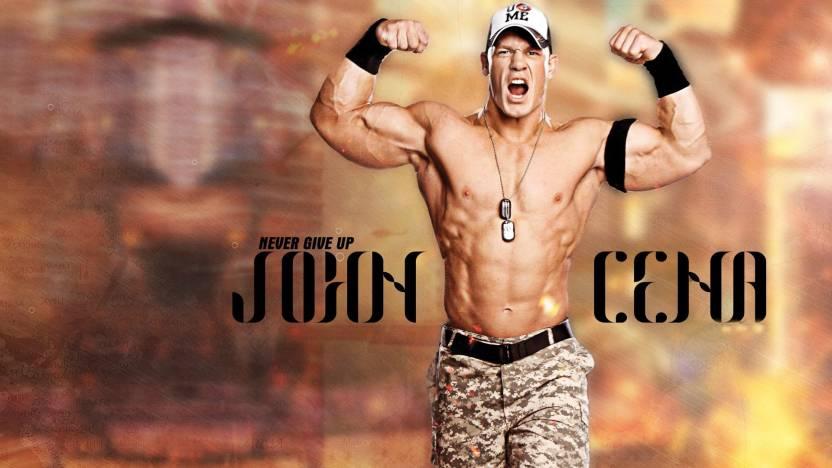 Wwe Superstar John Cena On Fine Art Paper Hd Quality Wallpaper