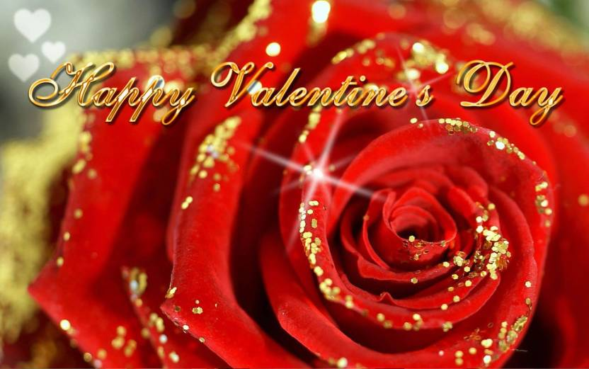 Happy Valentine S Day Love On Fine Art Paper Hd Quality Wallpaper