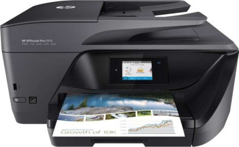 HP OfficeJet Pro 6970 Multi-function Wireless Printer - HP