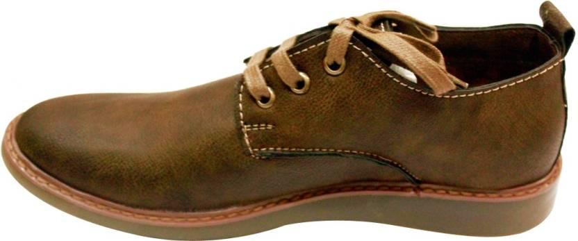 Lee Grain Men Casual Brown Shoe For Men Buy Lee Grain Men Casual