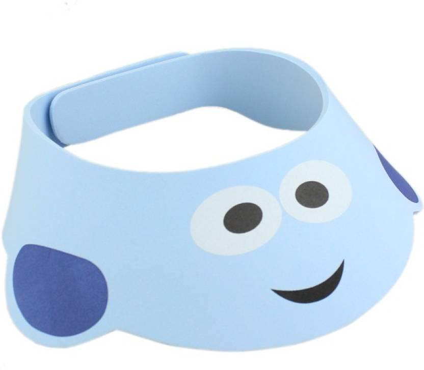 Futaba Baby Shower Bath Protect Soft Cap - Blue - Price in India ...