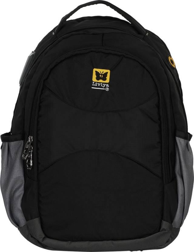 adba1ca2d9a3 Liviya Sb1176lv 30 L Backpack Black - Price in India