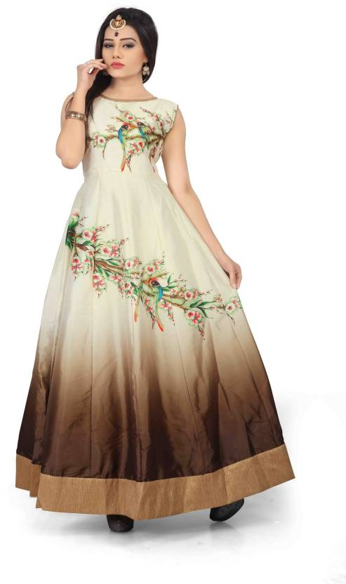 b6e1921c9803 Royal Drift Straight Gown Price in India - Buy Royal Drift Straight ...