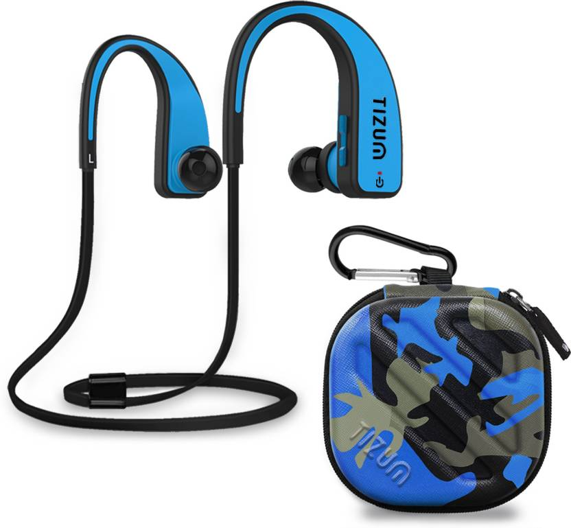 befdca8454e1 TIZUM S-200 FreeStyle Bluetooth V4.1 In-Ear Sports Headset with CVC  6.0-Noice Cancelling