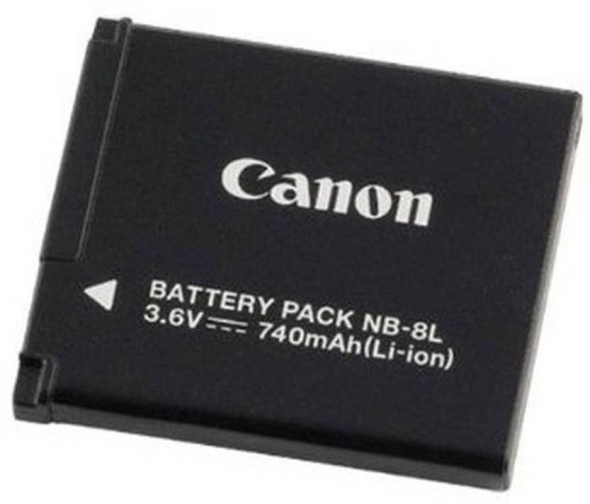 Canon NB  8L Rechargeable Li ion Battery Canon Batteries