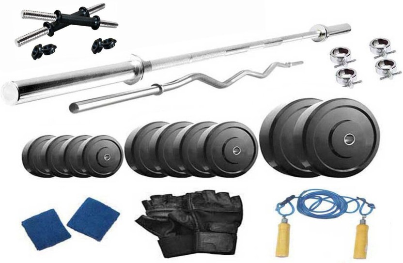 Protoner kg pvc weight with rods home gym combo price in