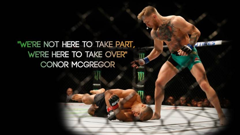 Akhuratha Poster Sports Ufc Conor Mcgregor On Fine Art Paper Hd