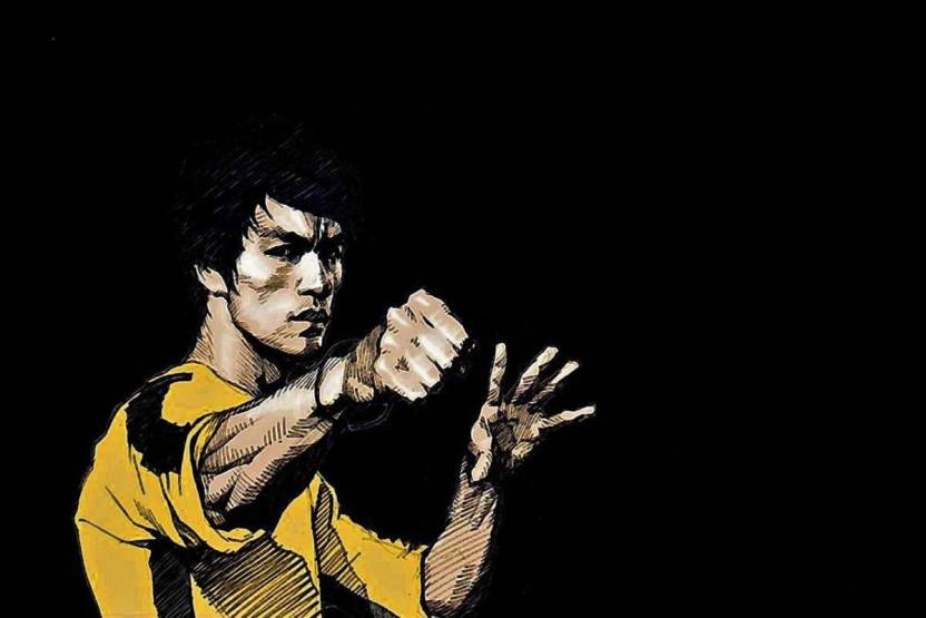 Bruce Lee Hollywood Actor On Fine Art Paper Hd Quality Wallpaper