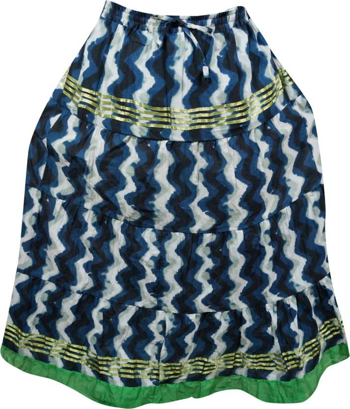 cbe05f7756 Indiatrendzs Printed Women's A-line Multicolor Skirt - Buy ...