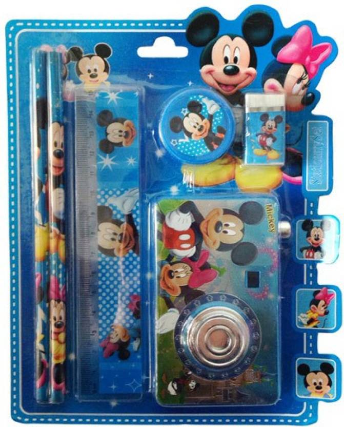d85b5af140bd Funcart Mickey Mouse Camera Stationery Set (pack of 6) - Mickey ...