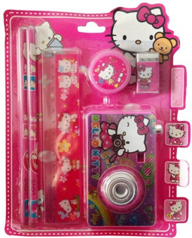 Funcart Hello Kitty Camera Stationery Set (pack of 6)