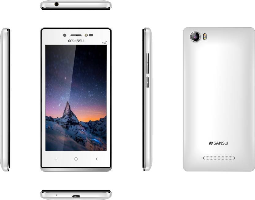 Sansui Horizon 1 (Black/White, 8 GB) 4G-VoLTE