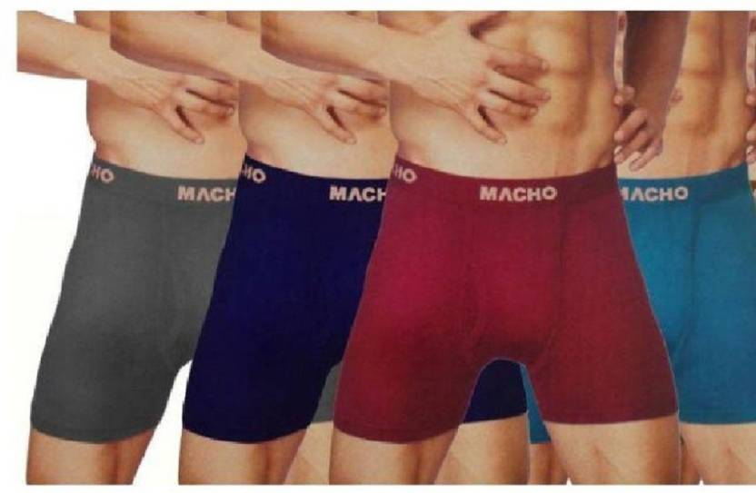 Macho Interlock Men s Trunks - Buy Multicolor Macho Interlock Men s Trunks  Online at Best Prices in India  e05b02c19