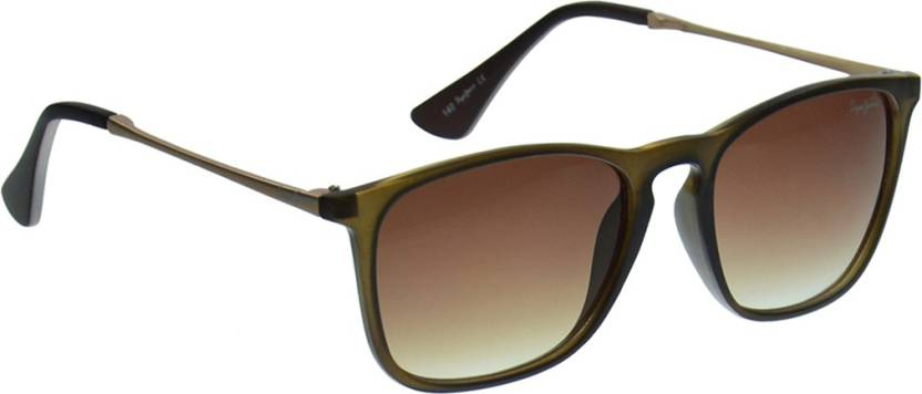 b401e216d4425 Buy Pepe Jeans Wayfarer Sunglasses Brown For Men   Women Online ...