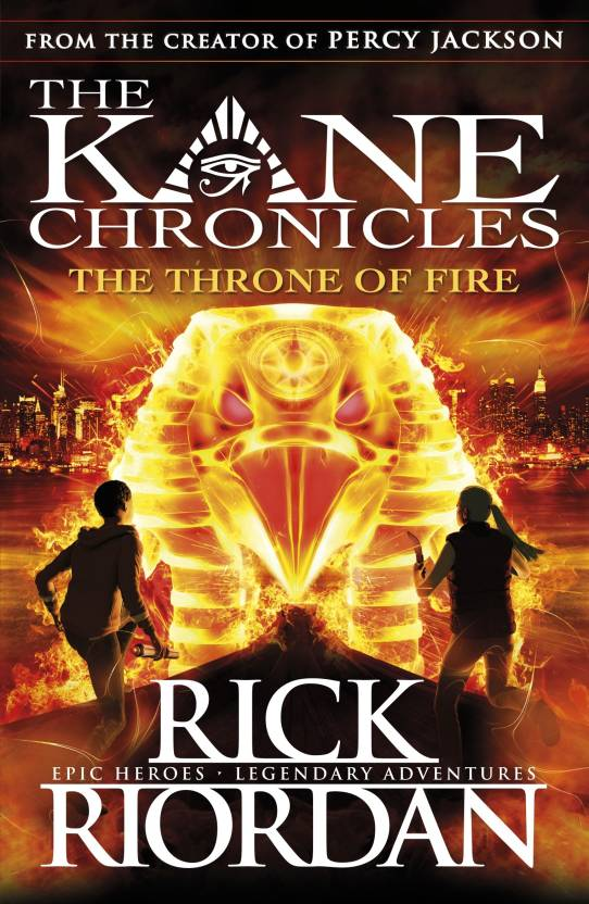 Kane Chronicles : The Throne of Fire