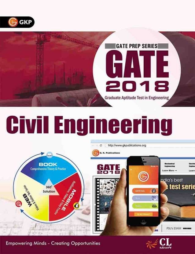 GATE GUIDE CIVIL ENGINEERING 2018 Edition