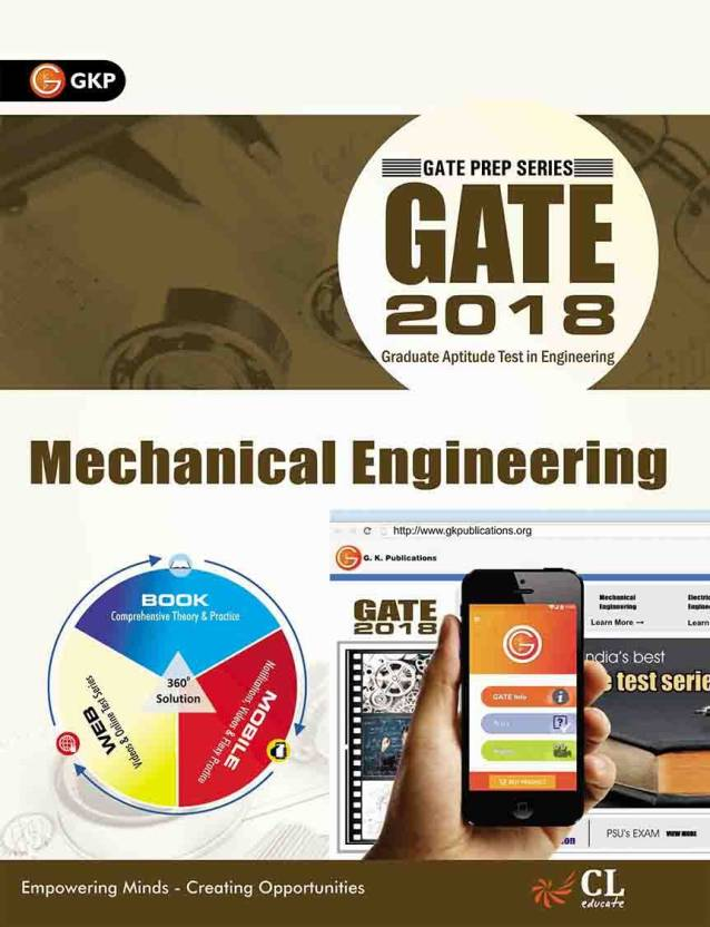 GATE GUIDE MECHANICAL ENGINEERING 2018 Edition