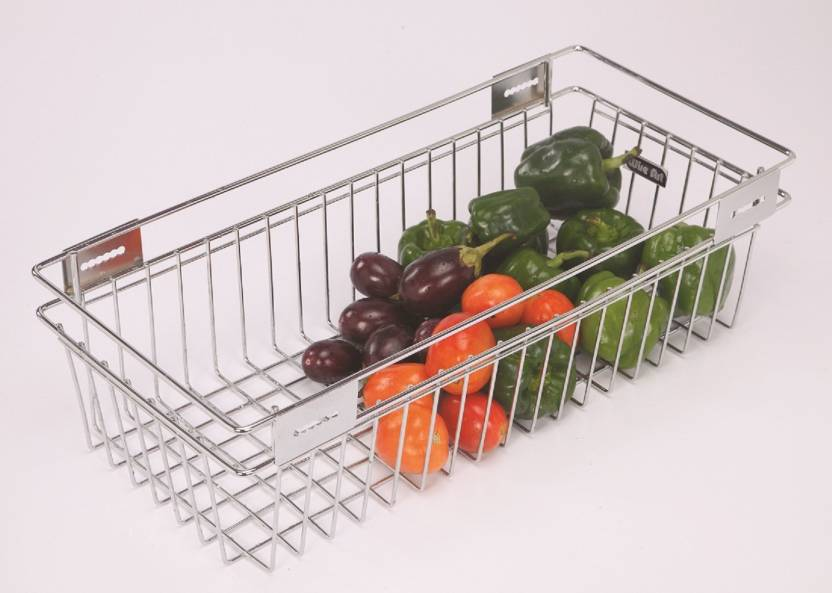 WIRE ART Fruit Basket Stainless Steel Kitchen Rack Price in India ...
