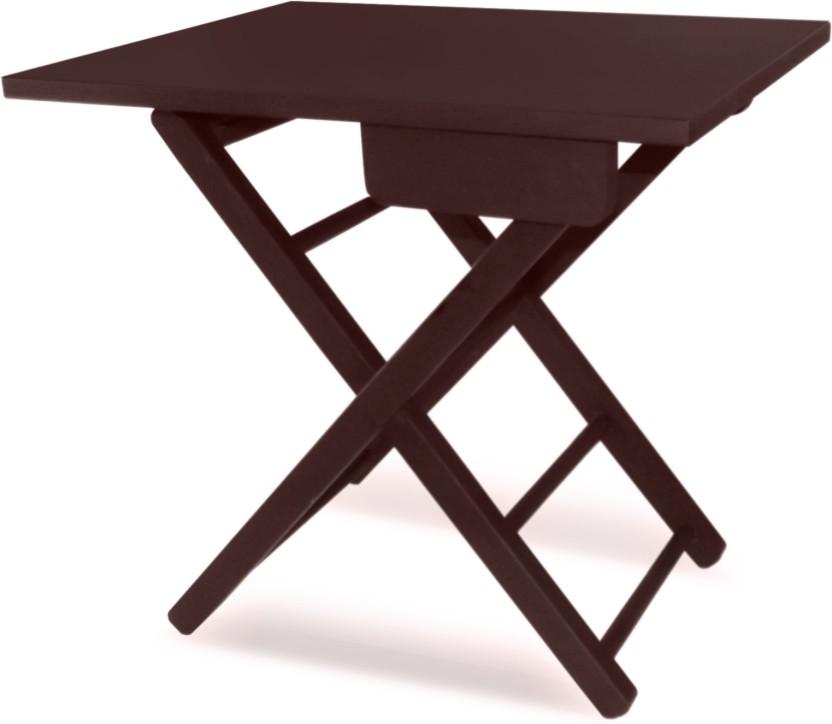 Colorwood Cosy Foldable Tea U0026 Side Table Solid Wood Side Table