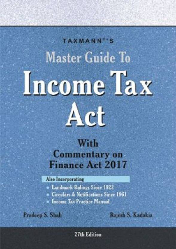 Master Guide To Income Tax Act: Buy Master Guide To Income