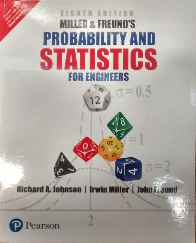 Probability And Statistics For Engineers 8th Edition Pdf
