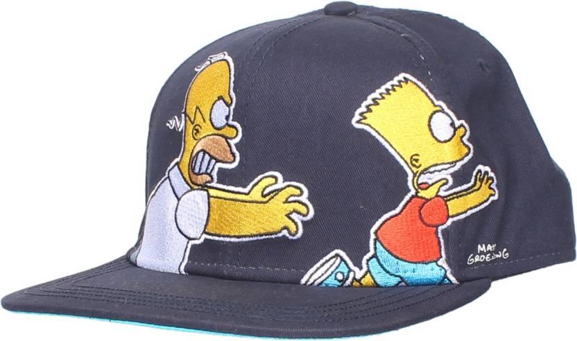 81d49c3de89 Simpsons Snapback Cap - Buy Simpsons Snapback Cap Online at Best Prices in  India | Flipkart.com