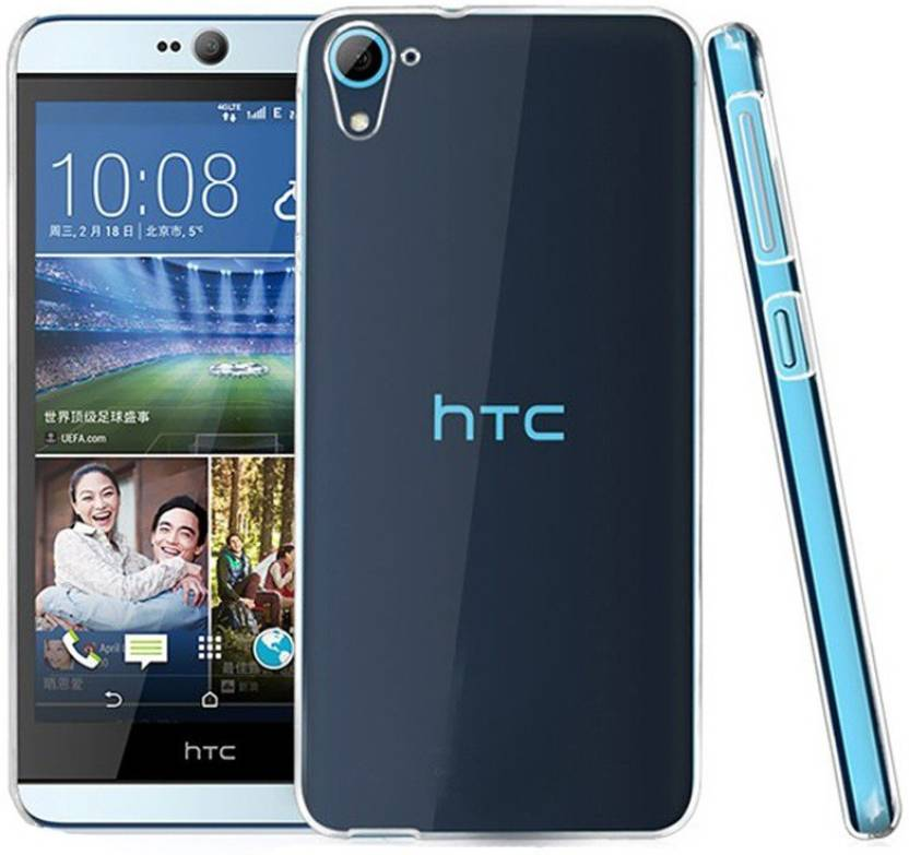 Style Case Back Cover for HTC Desire D826 (Transparent, Rubber)