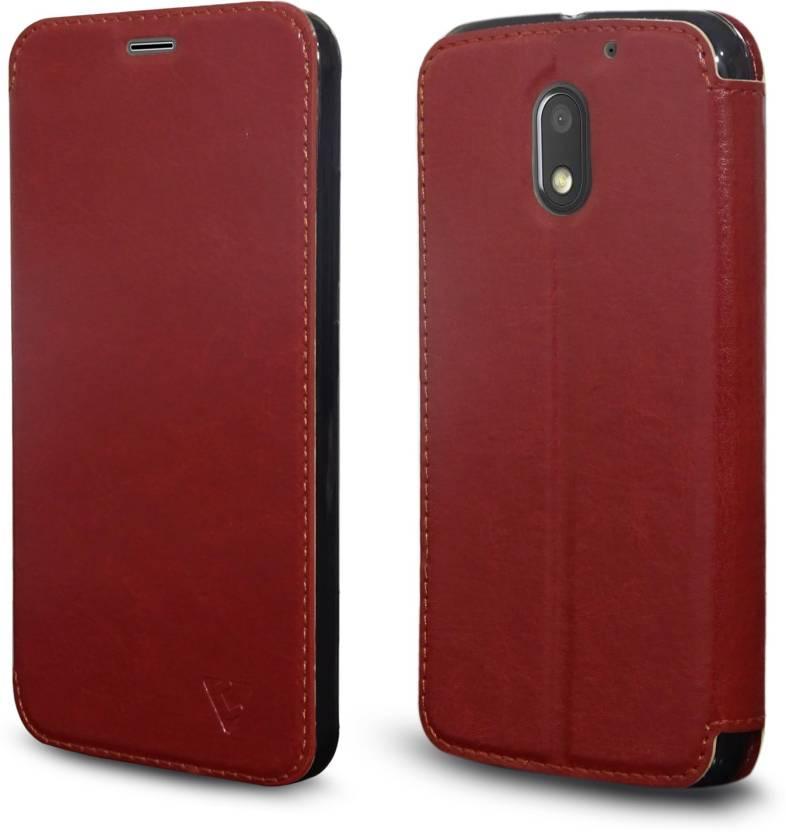 quality design 338bd bbbf6 Ceego Flip Cover for Motorola Moto E3 Power