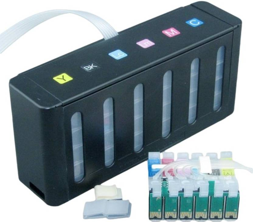 Max 6 Color Continuous Ink Supply System T0851 To T0856 With Cartridge Accessories Without