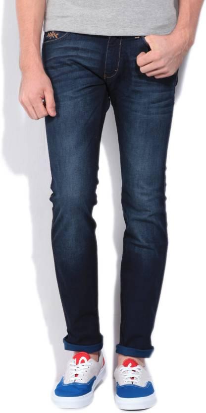 ec204979 Wrangler Kevin Slim Men's Dark Blue Jeans - Buy JSW-DARKSTONE Wrangler  Kevin Slim Men's Dark Blue Jeans Online at Best Prices in India    Flipkart.com
