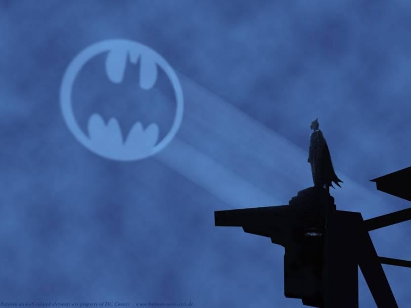 Batman Batman Symbol Frameless Fine Quality Poster Paper Print