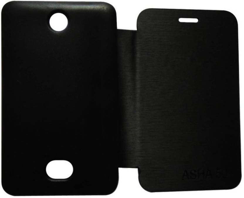 low priced 3a35e bc9d5 Trap Flip Cover for Nokia Asha 501