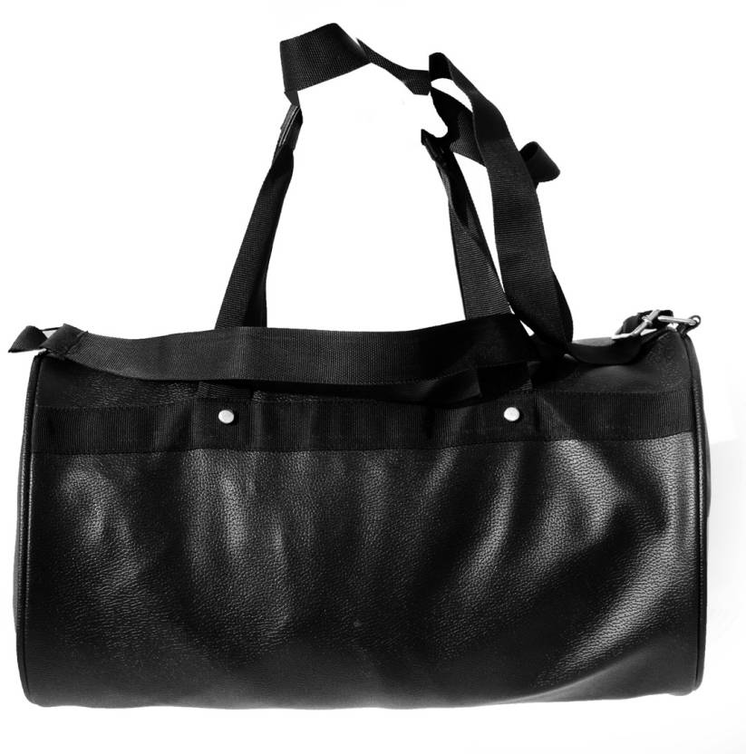 gag wears Alluring Travel Duffel Bag Black - Price in India ... 929e6d4efcdb0