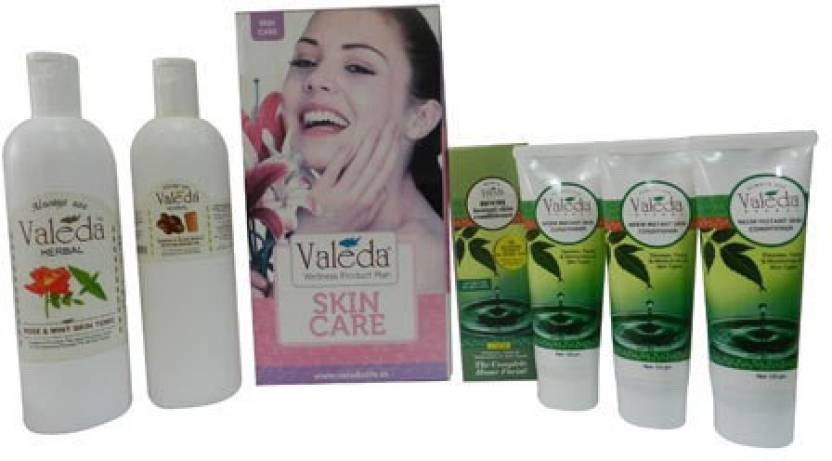 Valeda Herbal General Body Care Kit - From The 'House of Doctors - Since1988' Combo Set