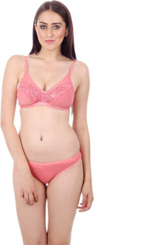 96ec486e977 Tace Lingerie Set - Buy Pink Tace Lingerie Set Online at Best Prices in  India