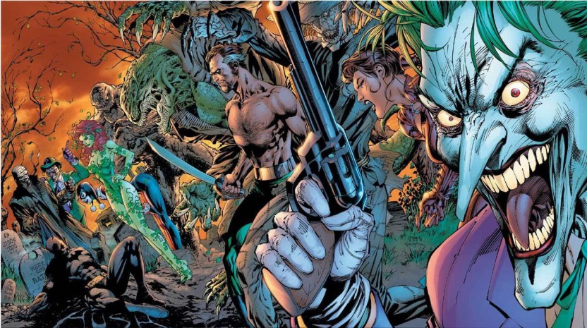 Killer croc and poison ivy amusing question