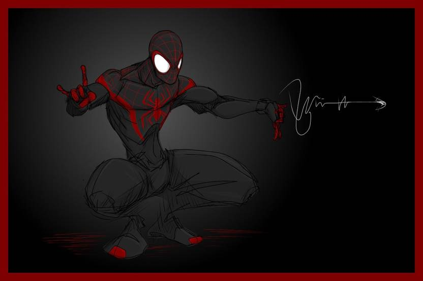 Comics Spider Man Spider Man Hd Wallpaper Background Fine Art Print