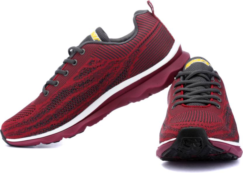 Sparx Running Shoes For Men Buy Maroon Grey Color Sparx Running