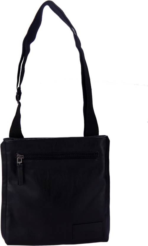 87127e5cc Calvin Klein Men Casual Grey Genuine Leather Sling Bag Heathered Slate -  Price in India | Flipkart.com