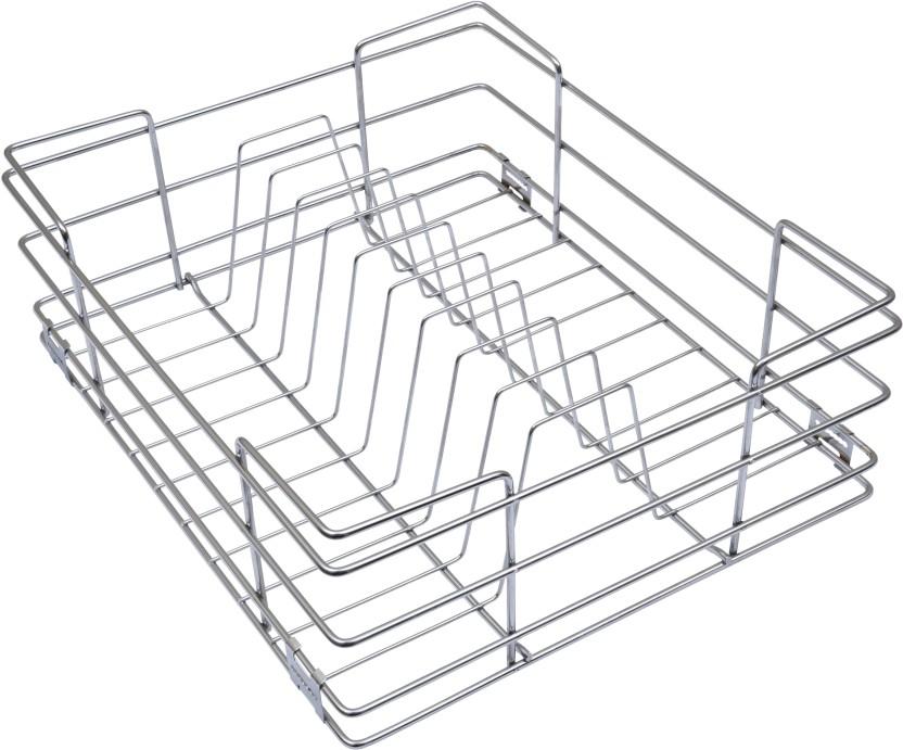 Alex Plate Kitchen Basket 21 X 20 X 6 Inches Storage Basket