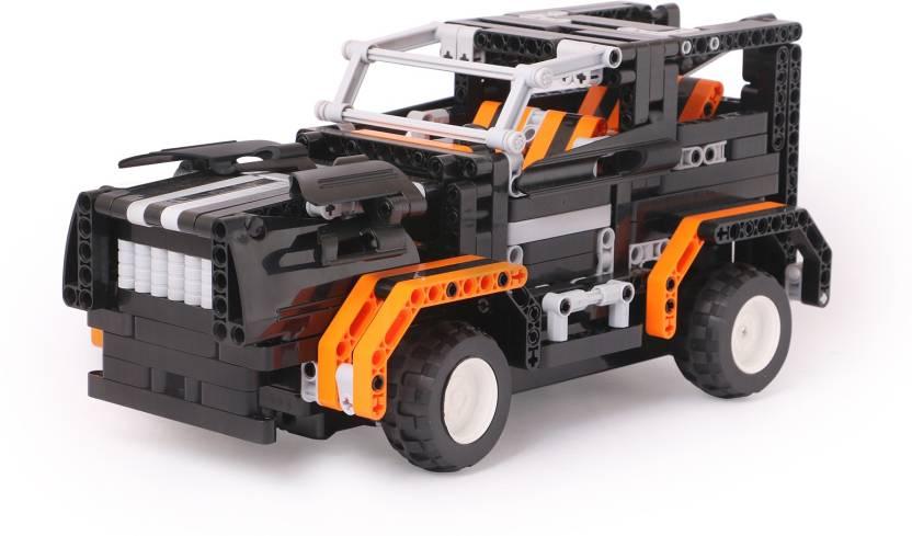 Simon RC Blocks Technik 4CH 2 in 1 SUV Car & Pick Up Truck -509pcs